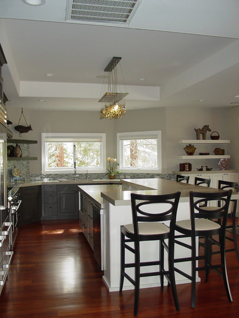 Golf Links Drive on PAR in Los Gatos! eclectic-kitchen
