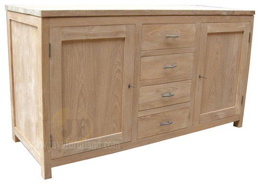 Solid Teak Wood Sideboard Furniture - Contemporary - Buffets And Sideboards - other metro - by ...