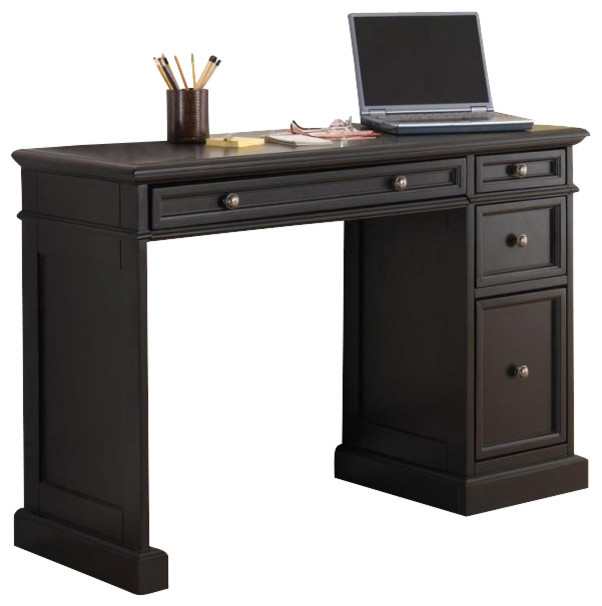 Home Styles Traditions Utility Desk with Wood Top traditional-desks