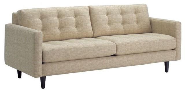 Beverly Sofa, Straw, 87x38x34 modern-sofas