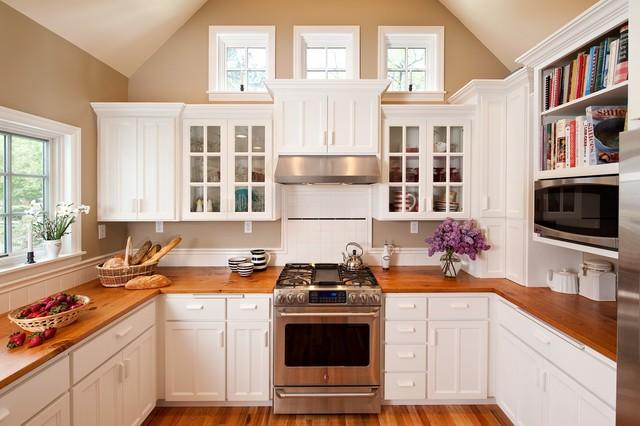 Historic Cape Cod Addition traditional-kitchen