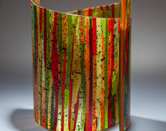 Bamboo Forest- art glass sculpture  artwork