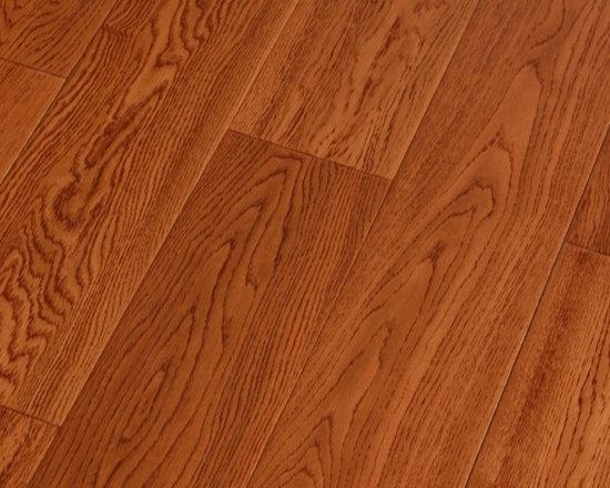 Hardwood flooring - Wood species: Red Oak Solid Wood Flooring