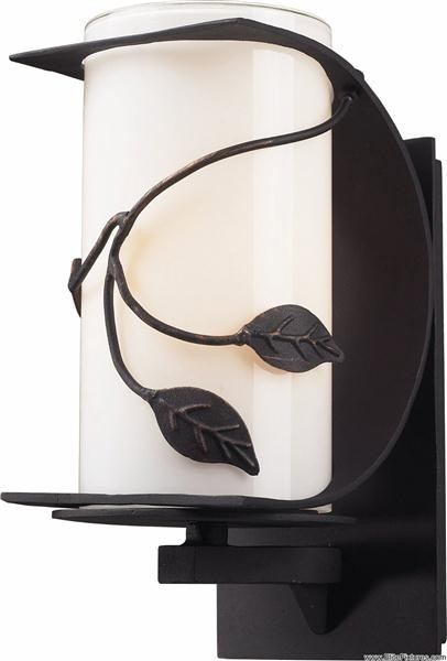 Elk Lighting 42070/1 1 Light Wall Sconce Hedera Collection traditional-outdoor-wall-lights-and-sconces