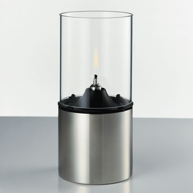 Stelton Oil Lamp - Clear Shade - Modern - Candles And ...