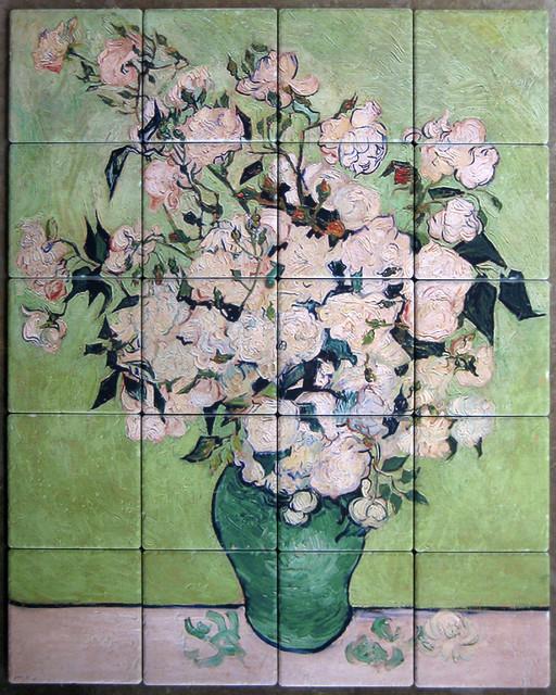 Kitchen Backsplash Tile Mural traditional-tile-murals
