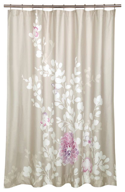 Kaleah Shower Curtain Contemporary Shower Curtains By Inmod