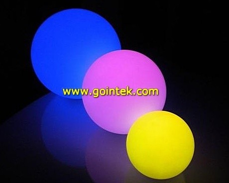 Main Access Remote Control Color Changing LED Light Waterproof Ball modern