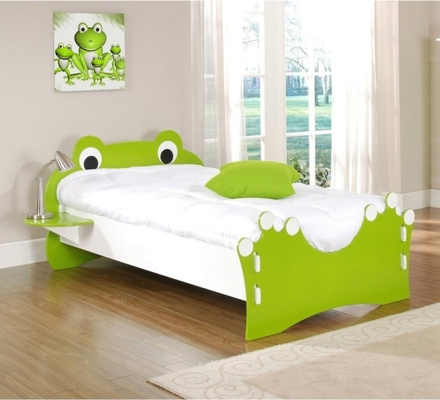 Legare Frog Twin Toddler Bed Eclectic Beds