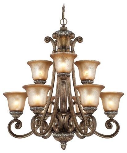 Carlyle 9 Light Chandelier modern-chandeliers