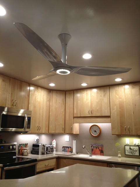 Haiku Ceiling Fans Traditional Kitchen Louisville