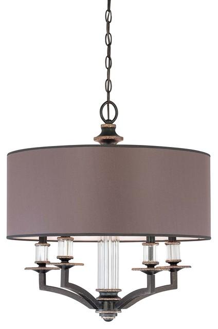 Modern Royal 5-Light Chandelier modern-chandeliers