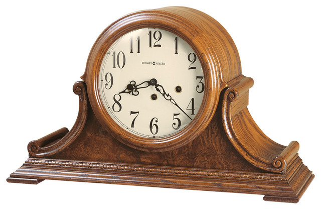 Howard Miller Key Wound Kieninger Movement Chiming Mantel Clock : HADLEY traditional-desk-and ...