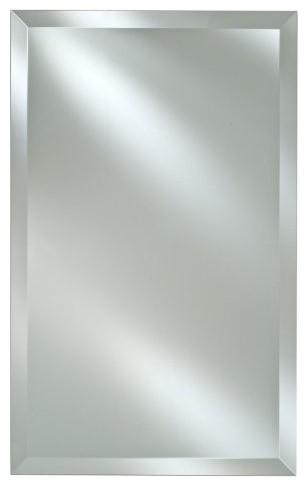 Frameless Rectangle Vanity Wall Mirror Contemporary Bathroom Mirrors