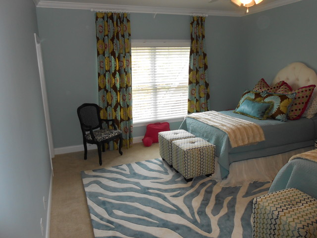 Living Room, Master Bedroom, and Guest Room contemporary