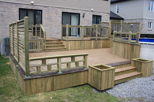 Deck Designs Ideas Pictures How To Build A Deck