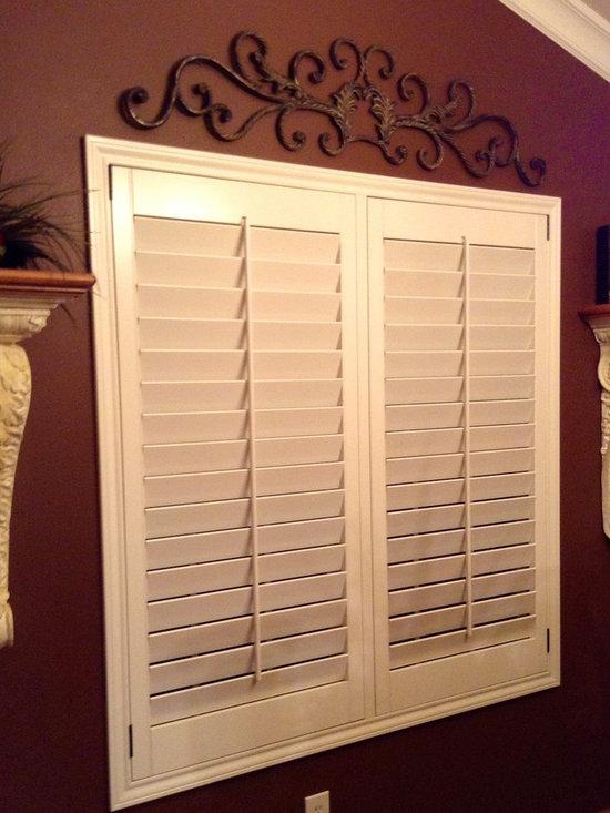 Custom shutters - Custom shutters, architectural trim work , custom cabinet Millwork