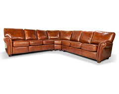 Leather Sectional - Barrington traditional-sectional-sofas