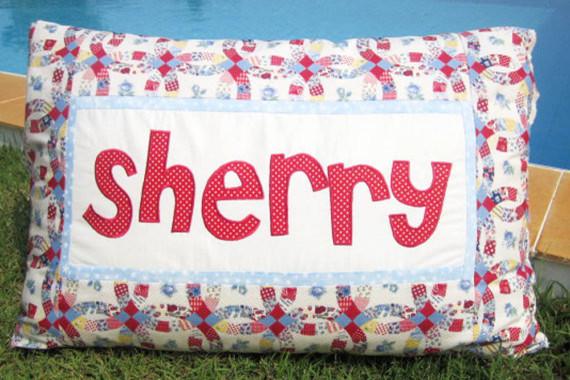 applique name pillows contemporary-kids-bedding