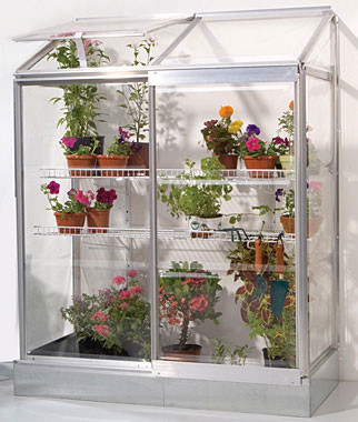 Lean-To Greenhouse traditional greenhouses
