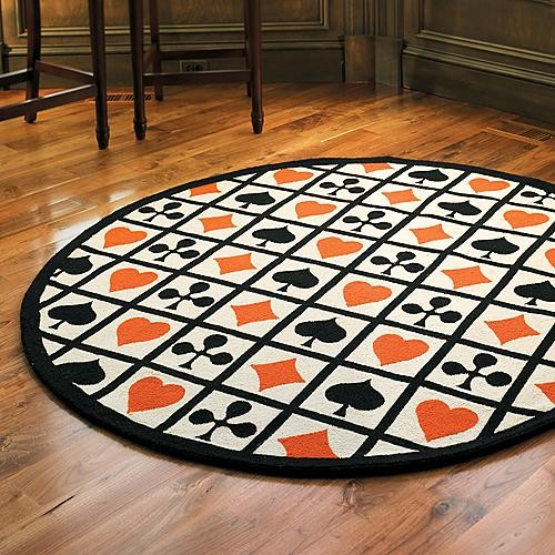 Poker Game Room Rug