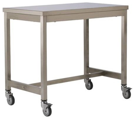 Counter Height Industrial Table : Quovis Counter Height Table - Industrial - Bar Carts - by Design ...