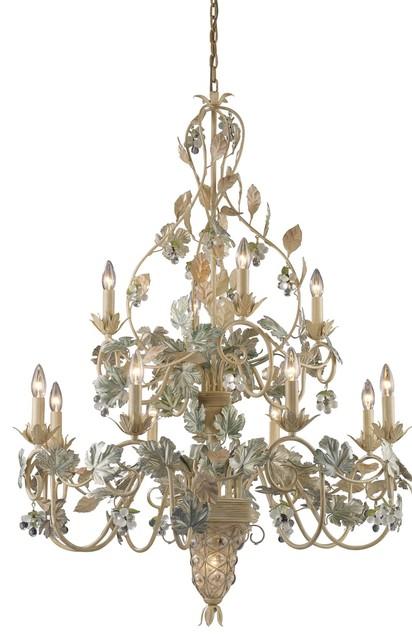 Elk Lighting ELK-7139-8-4-1 Vineyard Traditional Chandelier traditional-chandeliers