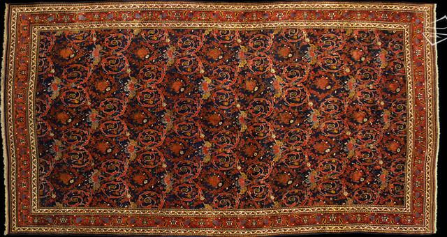 13×24 PERSIAN BIJAR RUG traditional-carpet-flooring
