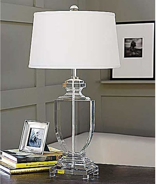 Regina Andrew Crystal Flat Urn Table Lamp Traditional Table Lamps By Candelabra