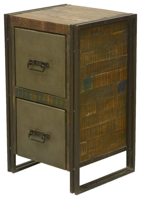 ... Cabinet - Industrial - Side Tables And End Tables - by Sierra Living