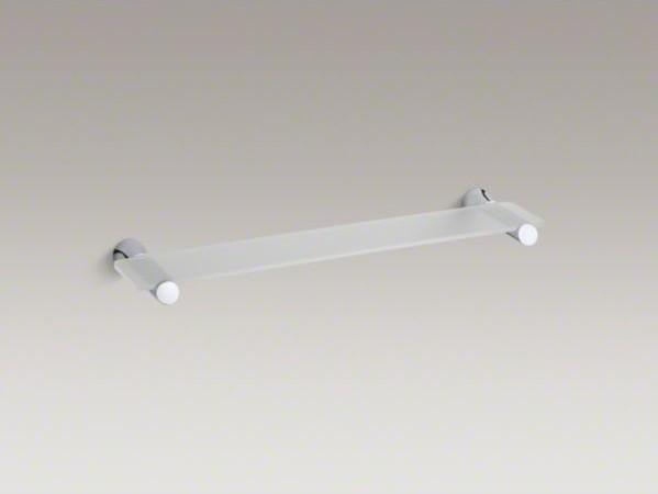 KOHLER Toobi(TM) glass shelf contemporary-display-and-wall-shelves
