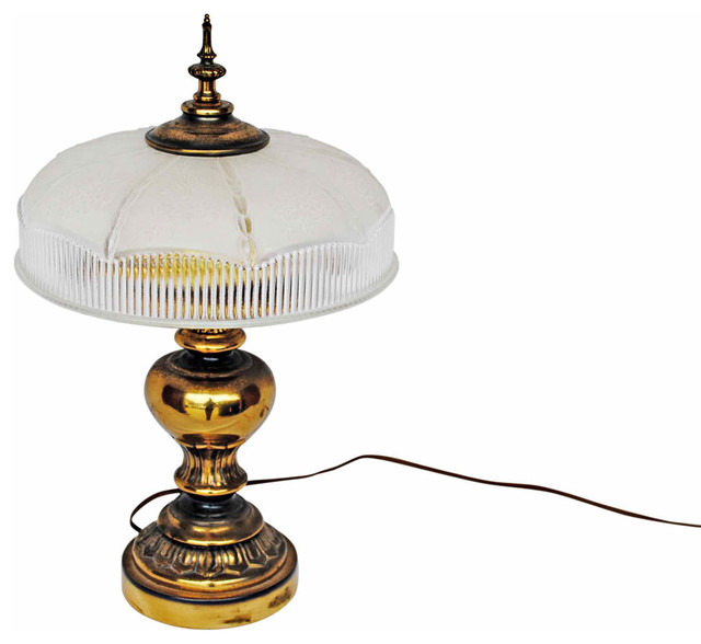 Brass Desk Lamp mediterranean-desk-lamps