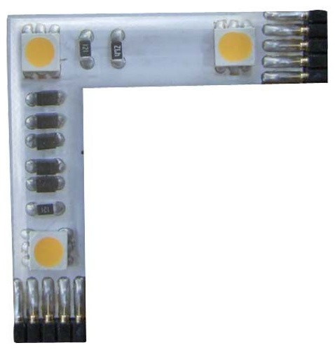 InvisiLED 24V Pro High-Output 3 LED L Connector by WAC Lighting modern-light-bulbs