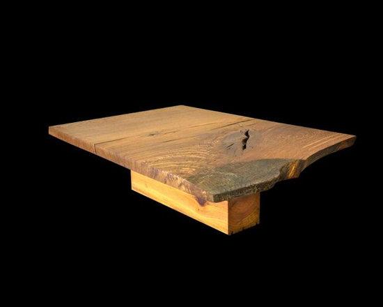 Oak Heart Pine Coffee Table - Robin Wade