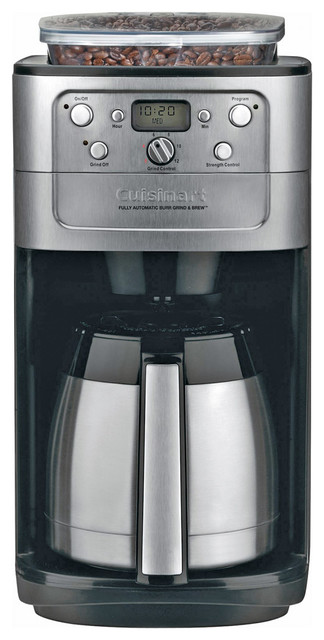 Cuisinart Coffee Maker Kettle : Cuisinart Burr Grind and Brew Thermal 12-Cup Automatic Coffeemaker - Contemporary - Coffee ...