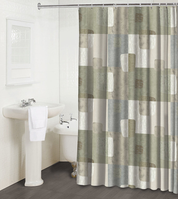 mezzo shower curtain contemporary shower curtains by