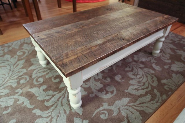 Reclaimed Wood Coffee Table Traditional Coffee Tables Other Metro By Reclaimed Things Llc