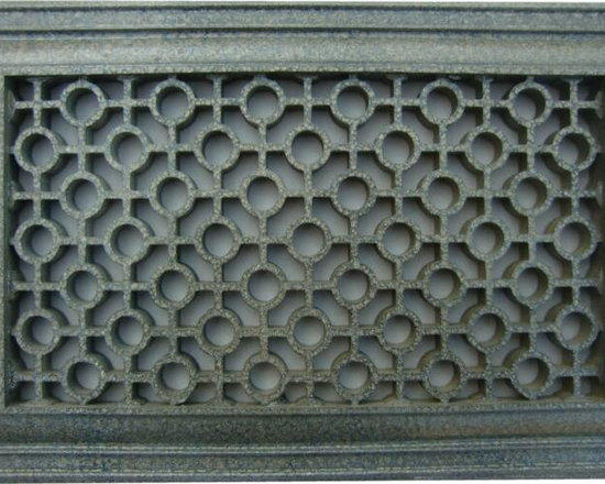 Decorative Vent Covers - Custom painted vent cover