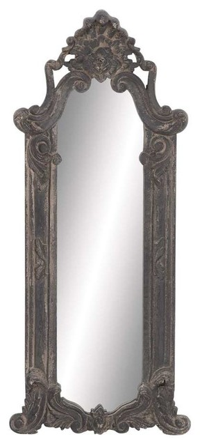 Gothic Style Wood Wall Mirror in Ash Wood - Traditional - Mirrors - by ...