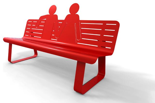 TOI ET MOI contemporary-outdoor-benches