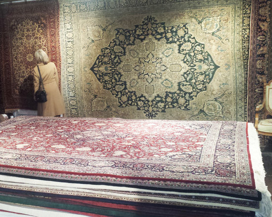 ANTIQUE PERSIAN RUGS -