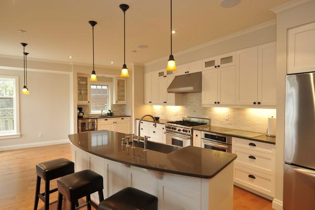 Oakville Infill Home contemporary-kitchen