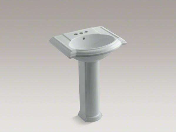Devonshire Pedestal Sink : KOHLER Devonshire(R) 24