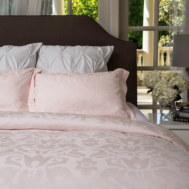 350 Thread Count Jacquard Duvet Cover, The Montgomery, modern-duvet-covers-and-duvet-sets