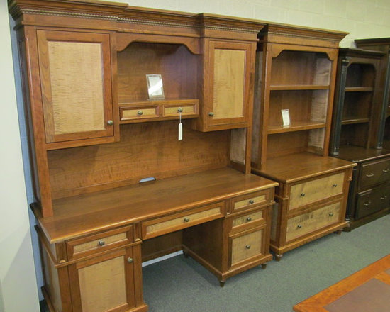 Bridgeport Credenza with Hutch, Lateral File with Hutch -