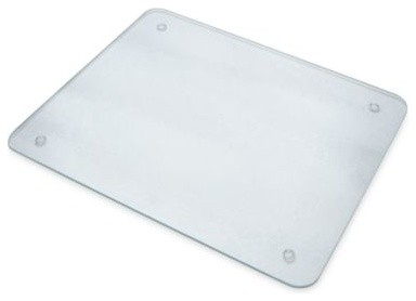 12-inch x 15-inch Glass Cutting Board contemporary-kitchen-knives-and-accessories
