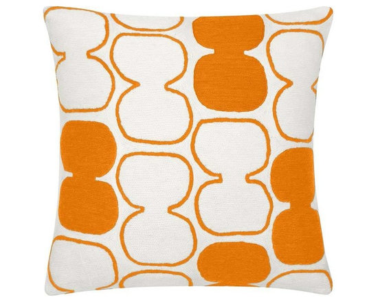 Tabla Outlined Melon Pillow -