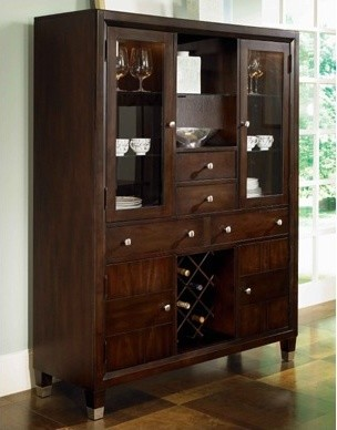Northern Lights China Cabinet - Modern - China Cabinets And Hutches
