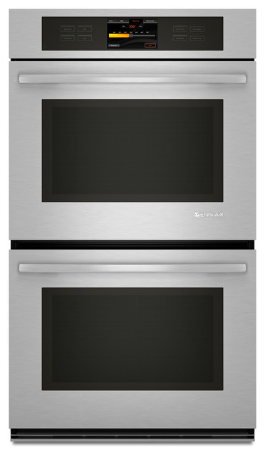 """Jenn-Air 30"""" Double Electric Wall Oven, Stainless Steel With Black   JJW3830WS ovens"""