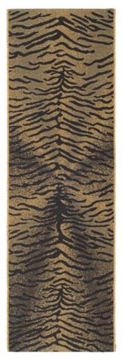 Courtyard Light Black/Natural Rug modern-rugs